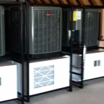 Some of the Greenhouse 705 dehumidifiers going to our friends in Michigan.