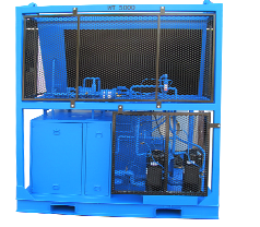 The Subcooled SCA-6000 Industrial Dehumidifier.